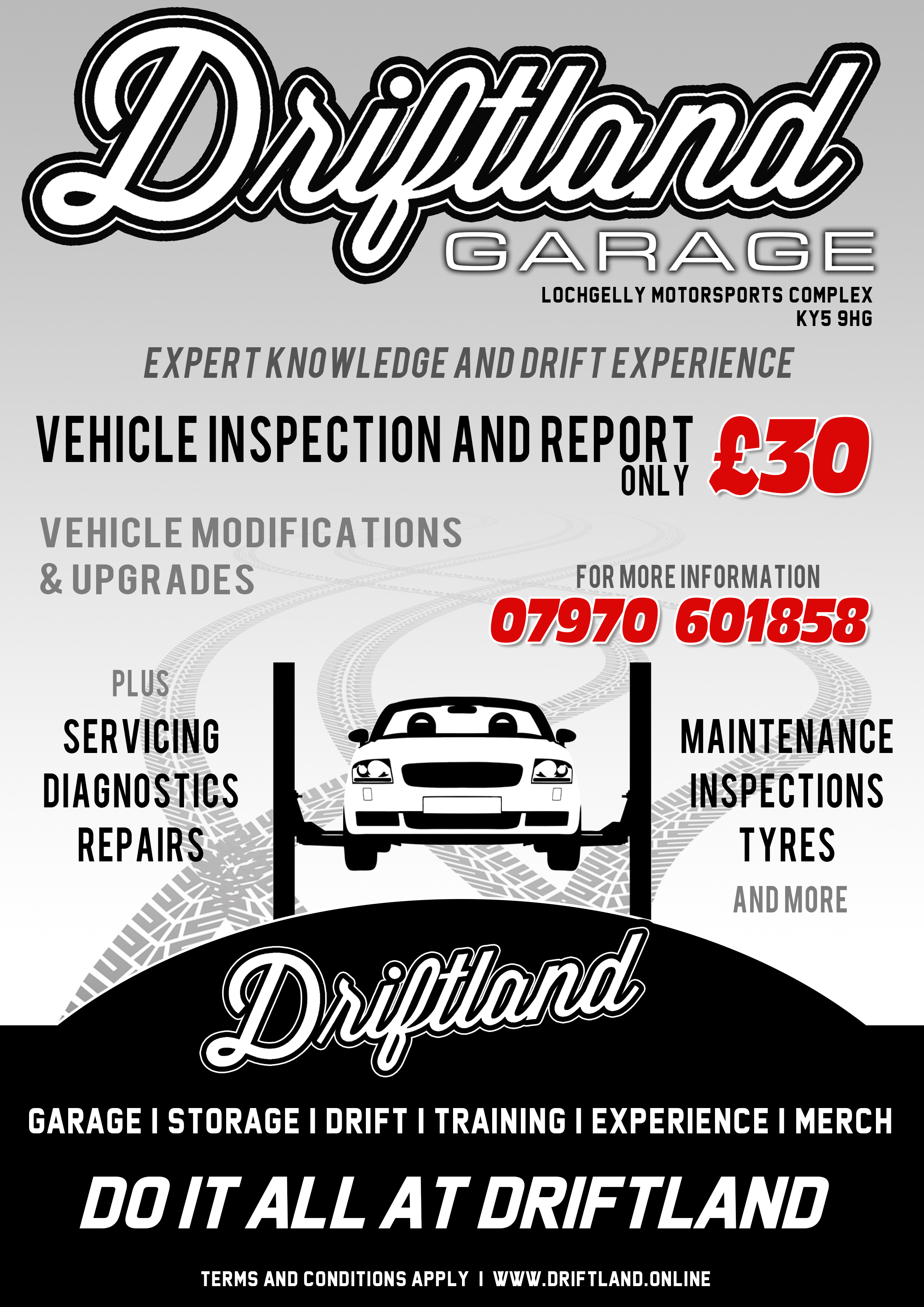 Driftland Garage - Modification, Engine Swaps, Tuning and Diagnostics